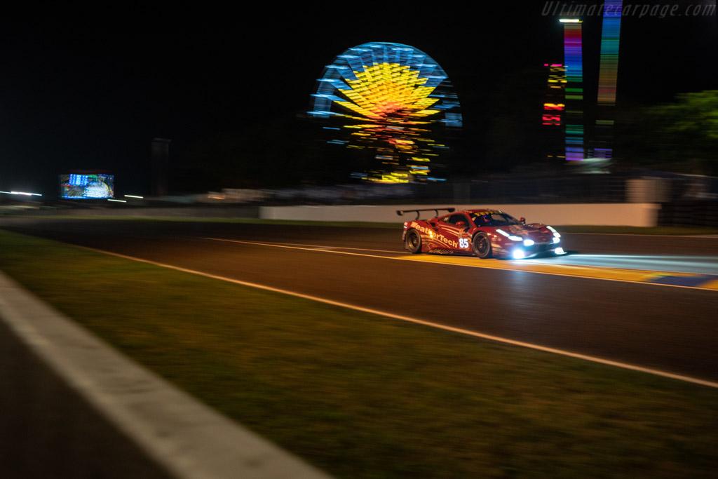 Ferrari 488 GTE  - Entrant: Keating Motorsports - Driver: Ben Keating / Jeroen Bleekemolen / Luca Stolz  - 2018 24 Hours of Le Mans