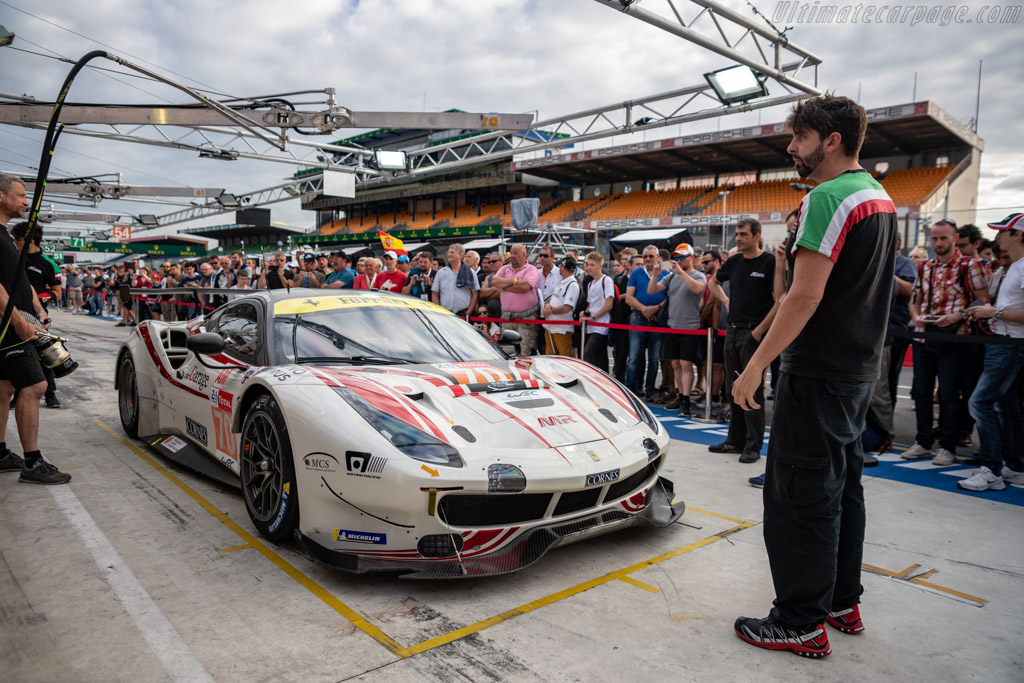 Ferrari 488 GTE - Chassis: 3818 - Entrant: MR Racing - Driver: Motoaki Ishikawa / Olivier Beretta / Edward Cheever - 2018 24 Hours of Le Mans