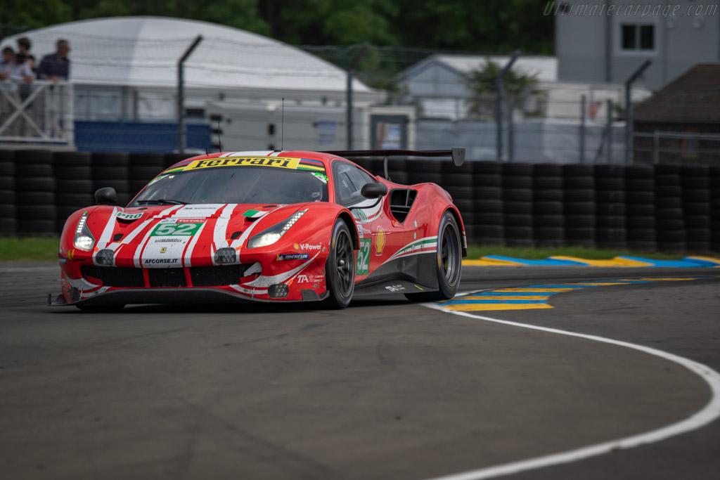 Ferrari 488 GTE EVO - Chassis: 3828 - Entrant: AF Corse - Driver: Toni Vilander / Antonio Giovinazzi / Luis Felipe Derani - 2018 24 Hours of Le Mans