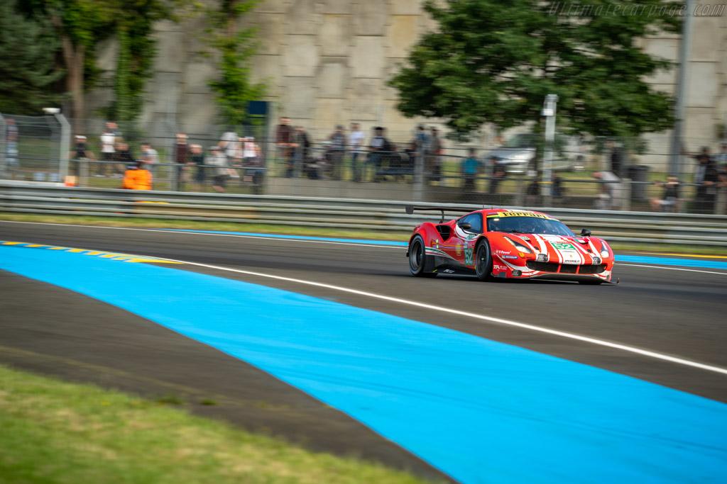 Ferrari 488 GTE EVO  - Entrant: AF Corse - Driver: Toni Vilander / Antonio Giovinazzi / Luis Felipe Derani  - 2018 24 Hours of Le Mans