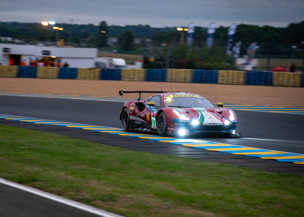 Ferrari 488 GTE EVO  - Entrant: AF Corse - Driver: Davide Rigon / Sam Bird / Miguel Molina  - 2018 24 Hours of Le Mans
