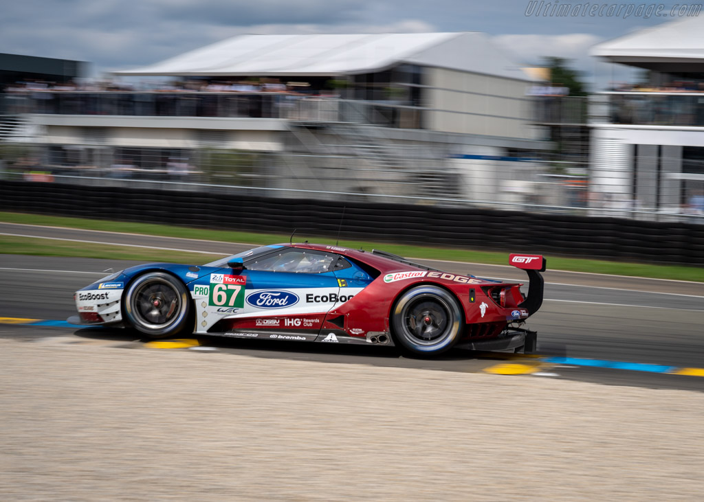 Ford GT  - Entrant: Ford Chip Ganassi Team UK - Driver: Andy Priaulx / Harry Tincknell / Tony Kanaan  - 2018 24 Hours of Le Mans