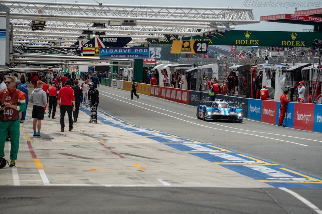 Ginetta G60-LT-P1 Mecachrome  - Entrant: CEFC TRSM Racing - Driver: Oliver Rowland / Alex Brundle / Oliver Turvey  - 2018 24 Hours of Le Mans