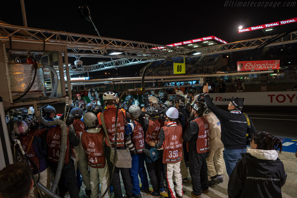 Media Frenzy    - 2018 24 Hours of Le Mans