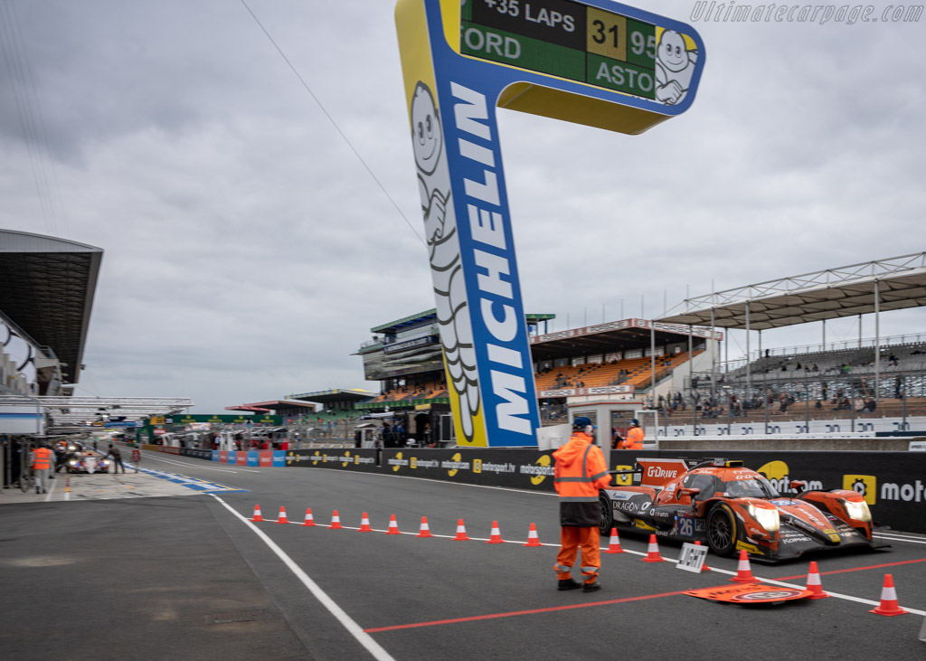Oreca 07 Gibson - Chassis: 07-LMP2-26 - Entrant: G-Drive Racing - Driver: Roman Rusinov / Andrea Pizzitola / Jean-Eric Vergne - 2018 24 Hours of Le Mans