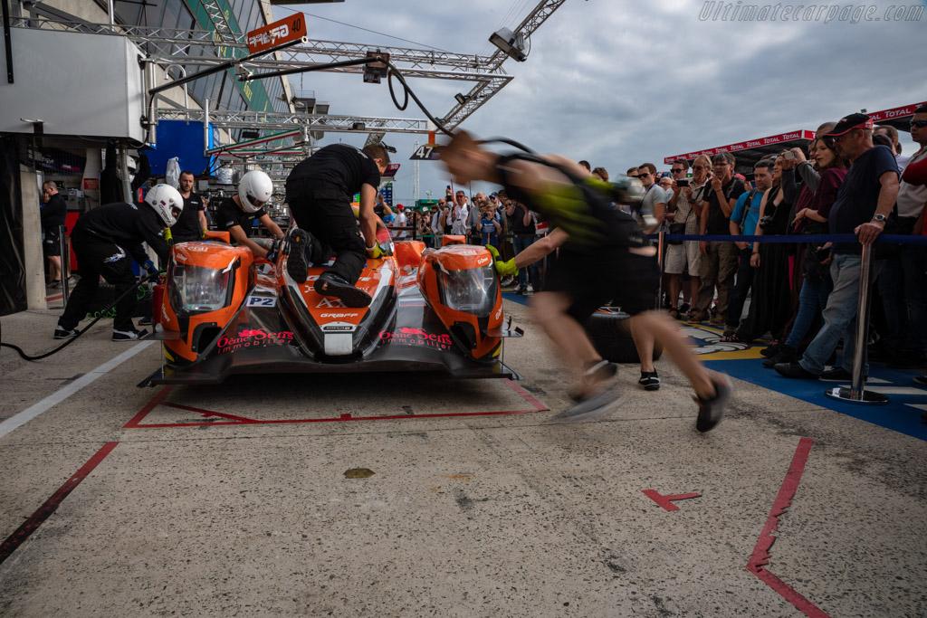 Oreca 07 Gibson  - Entrant: G-Drive Racing - Driver: James Allen / Jose Gutierrez / Enzo Guibbert  - 2018 24 Hours of Le Mans
