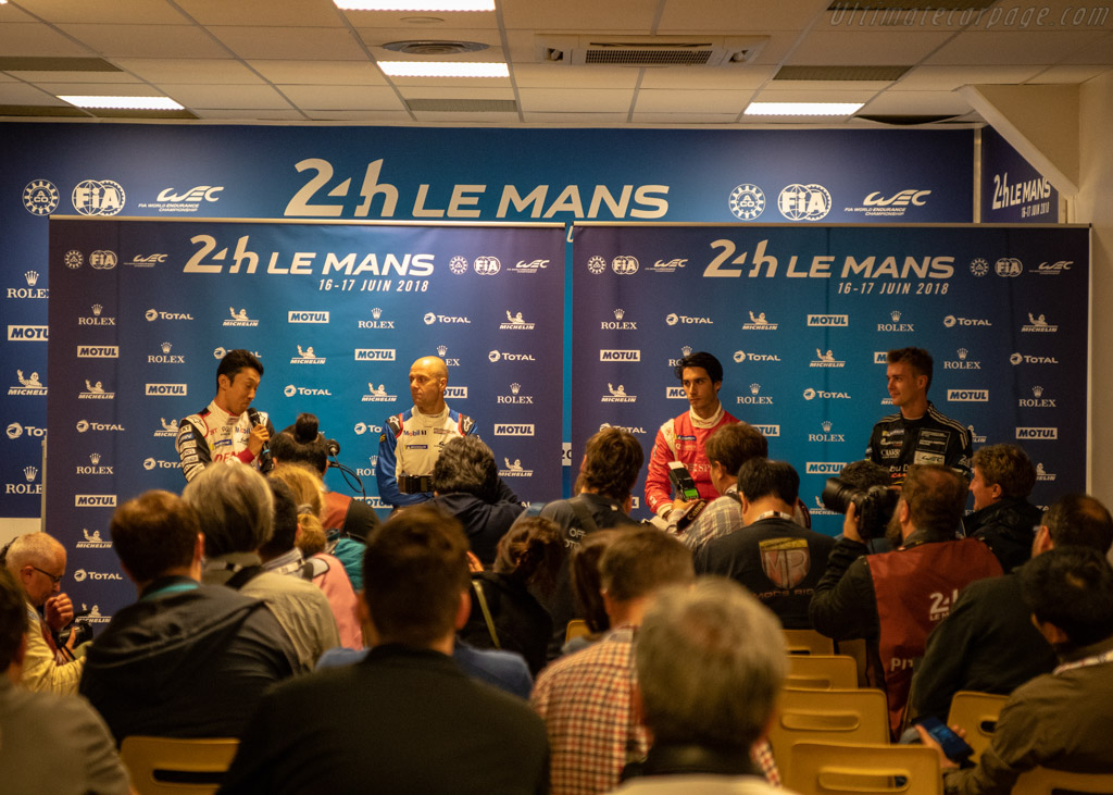 Pole press conference    - 2018 24 Hours of Le Mans