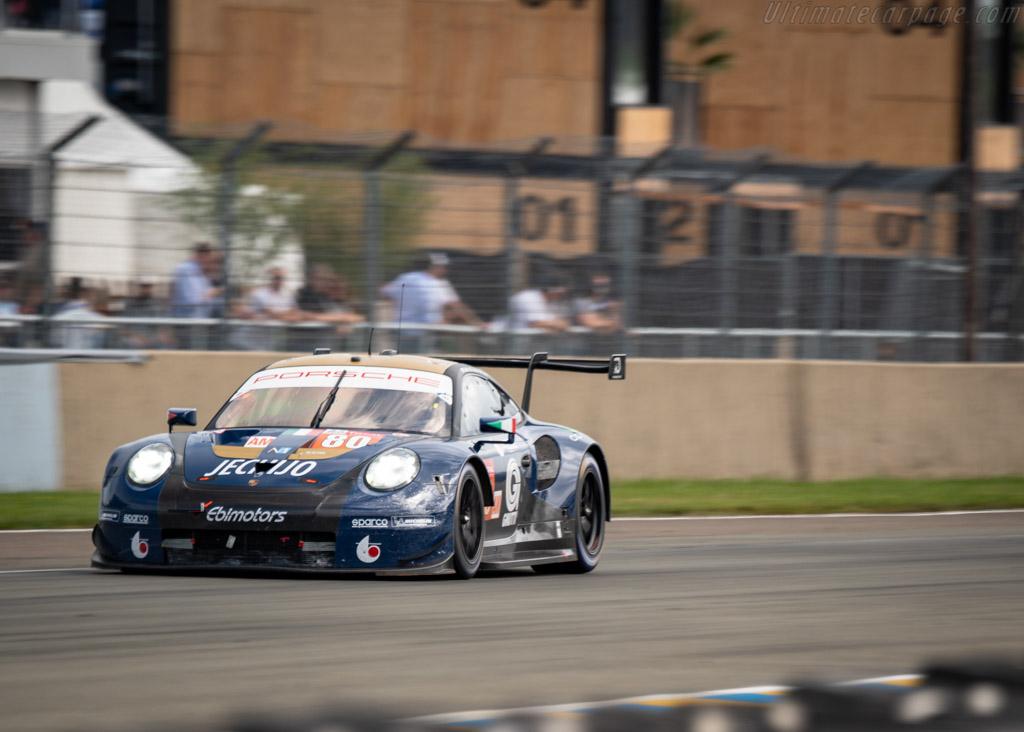 Porsche 911 RSR  - Entrant: Ebimotors - Driver: Fabio Babini / Christina Nielsen / Erik Maris  - 2018 24 Hours of Le Mans