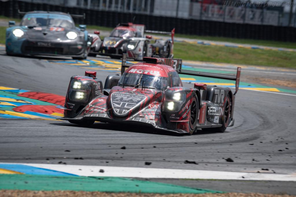 Rebellion R13 Gibson  - Entrant: Rebellion Racing - Driver: André Lotterer / Neel Jani / Bruno Senna  - 2018 24 Hours of Le Mans