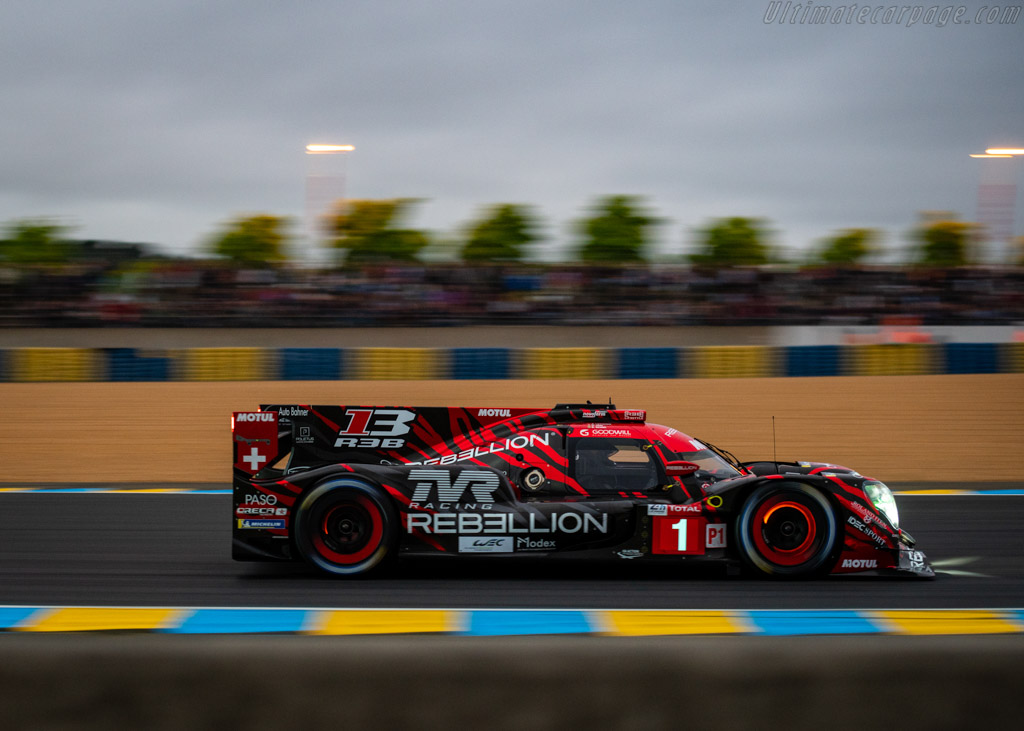 Rebellion R13 Gibson  - Entrant: Rebellion Racing - Driver: André Lotterer / Neel Jani / Bruno Senna  - 2018 24 Hours of Le Mans