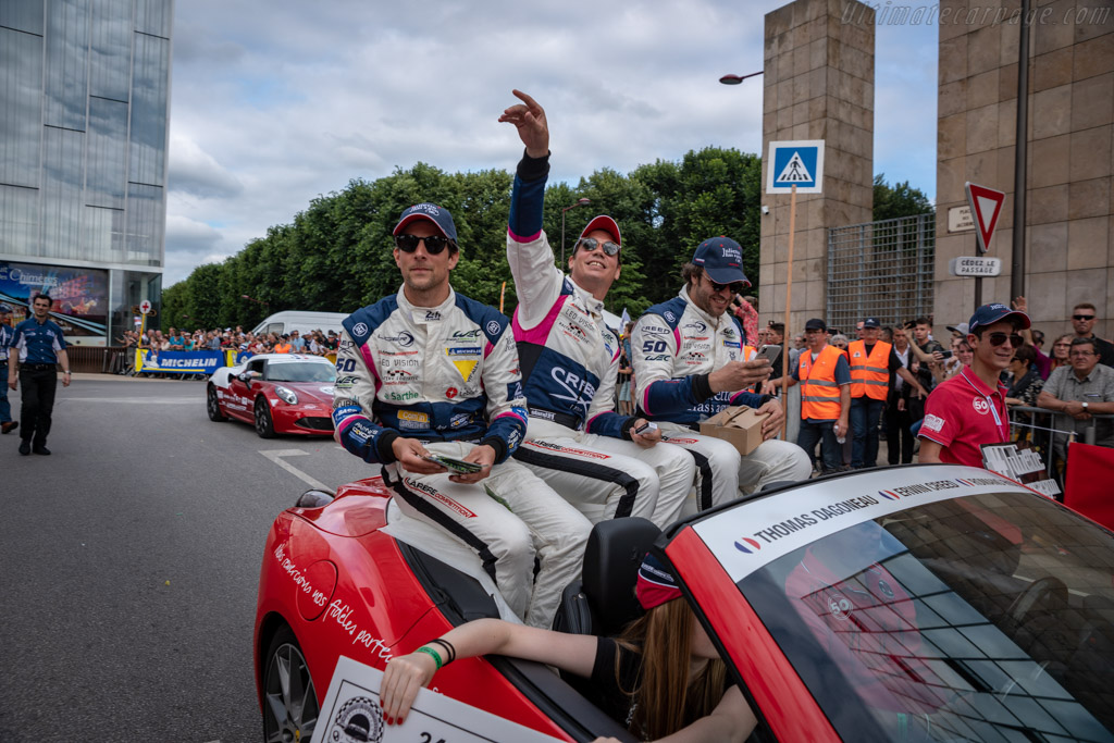 The driver parade    - 2018 24 Hours of Le Mans