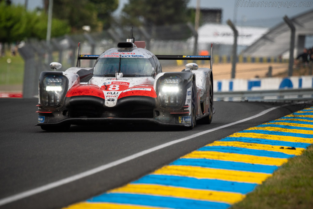Toyota TS050 Hybrid  - Entrant: Toyota Gazoo Racing - Driver: Sébastien Buemi / Kazuki Nakajima / Fernando Alonso  - 2018 24 Hours of Le Mans