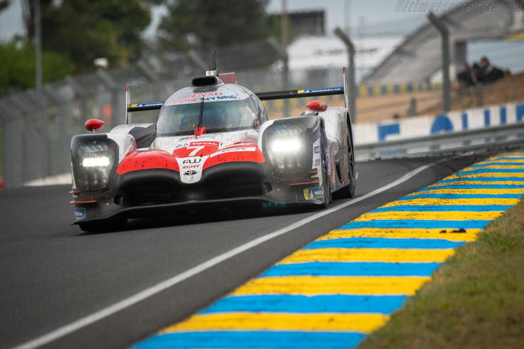 Toyota TS050 Hybrid  - Entrant: Toyota Gazoo Racing - Driver: Mike Conway / Kamui / Kobayashi / Jose Maria Lopez  - 2018 24 Hours of Le Mans