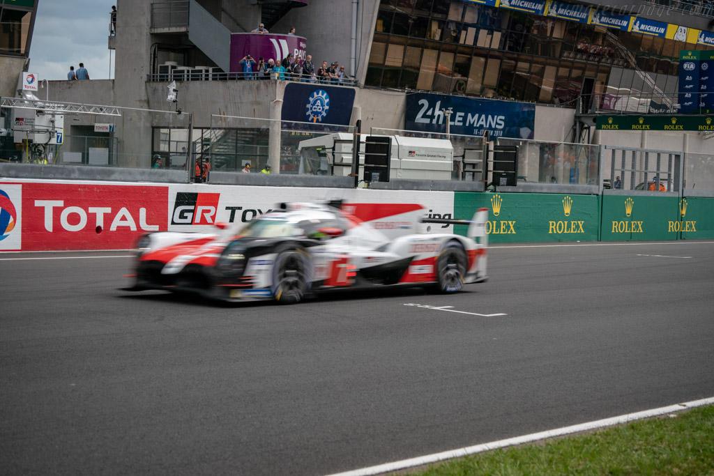 Toyota TS050 Hybrid - Chassis: 17-06 - Entrant: Toyota Gazoo Racing - Driver: Mike Conway / Kamui / Kobayashi / Jose Maria Lopez - 2018 24 Hours of Le Mans
