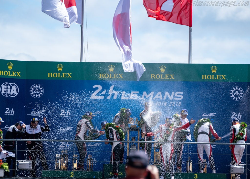 Winners!    - 2018 24 Hours of Le Mans