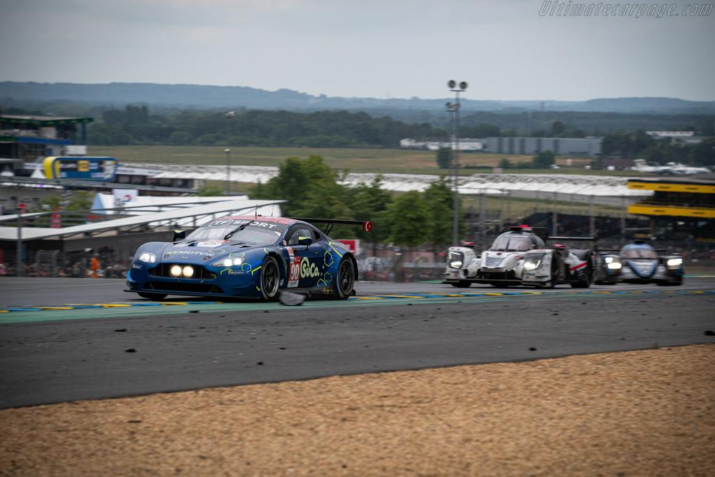 Aston Martin V8 Vantage GTE  - Entrant: TF Sport - Driver: Salih Yoluc / Euan Hankey / Charles Eastwood  - 2019 24 Hours of Le Mans