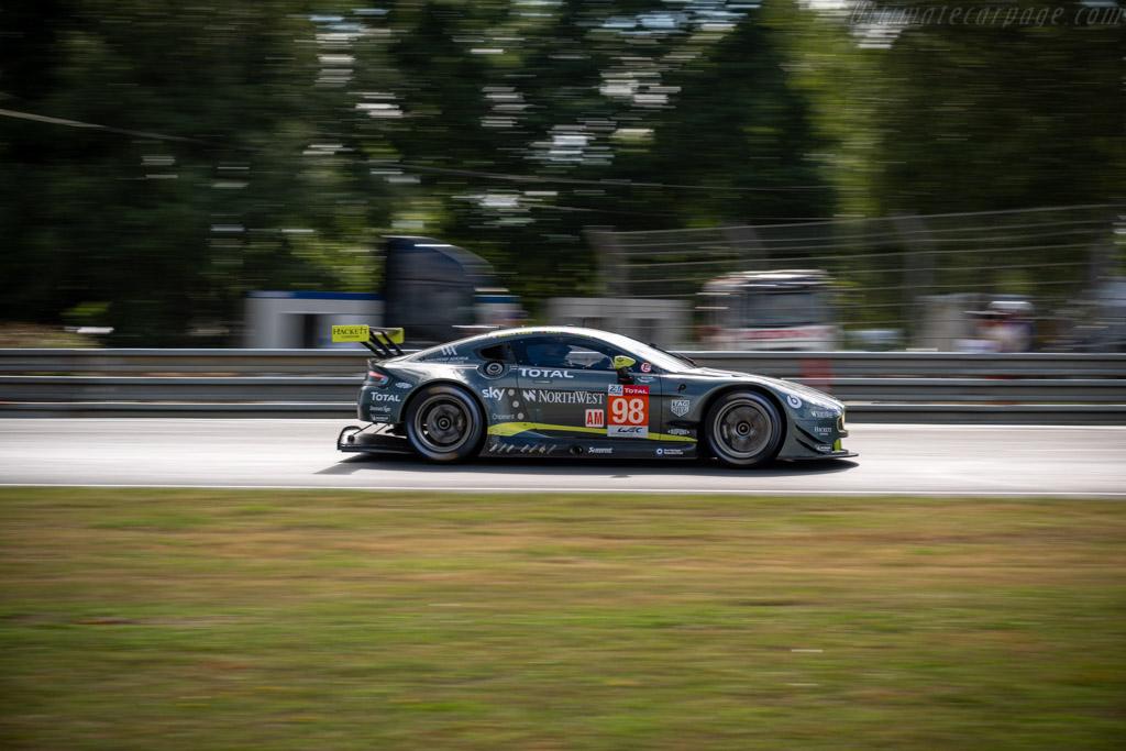 Aston Martin V8 Vantage GTE - Chassis: GTE-003 - Entrant: Aston Martin Racing - Driver: Paul Dalla Lana / Pedro Lamy / Mathias Lauda - 2019 24 Hours of Le Mans