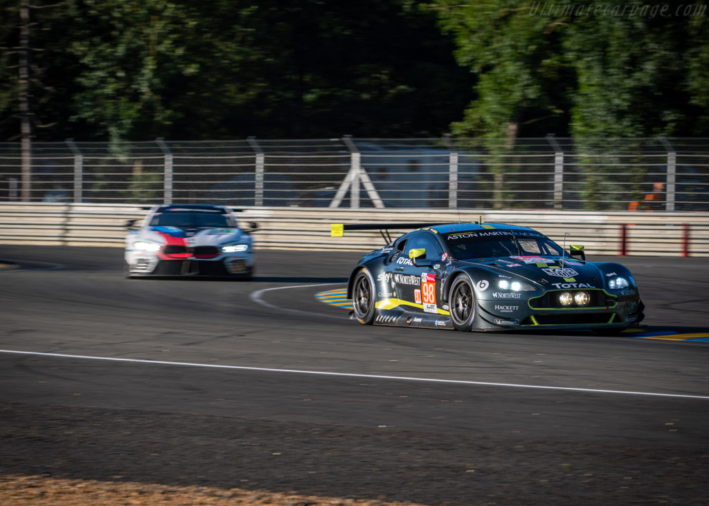 Aston Martin V8 Vantage GTE  - Entrant: Aston Martin Racing - Driver: Paul Dalla Lana / Pedro Lamy / Mathias Lauda  - 2019 24 Hours of Le Mans