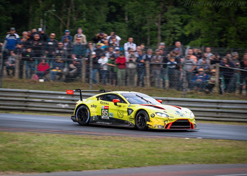 Aston Martin Vantage AMR - Chassis: 15A-002-2 - Entrant: Aston Martin Racing - Driver: Nicki Thiim / Marco Sørensen / Darren Turner - 2019 24 Hours of Le Mans