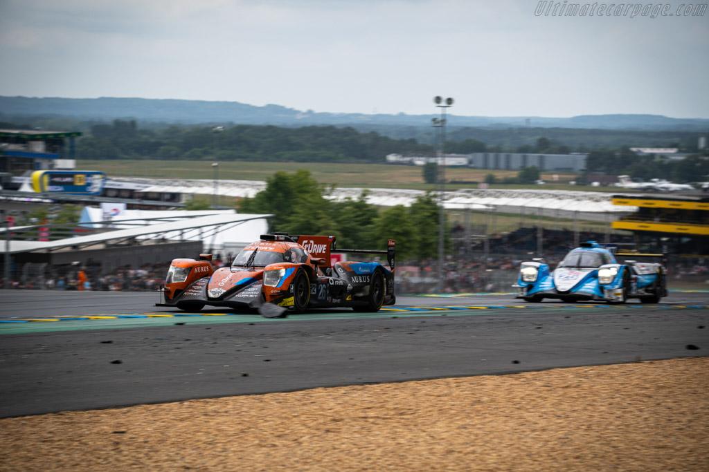 Aurus 01 Gibson - Chassis: LMP2-26 - Entrant: G-Drive Racing - Driver: Roman Rusinov / Job Van Uitert / Jean-Eric Vergne - 2019 24 Hours of Le Mans