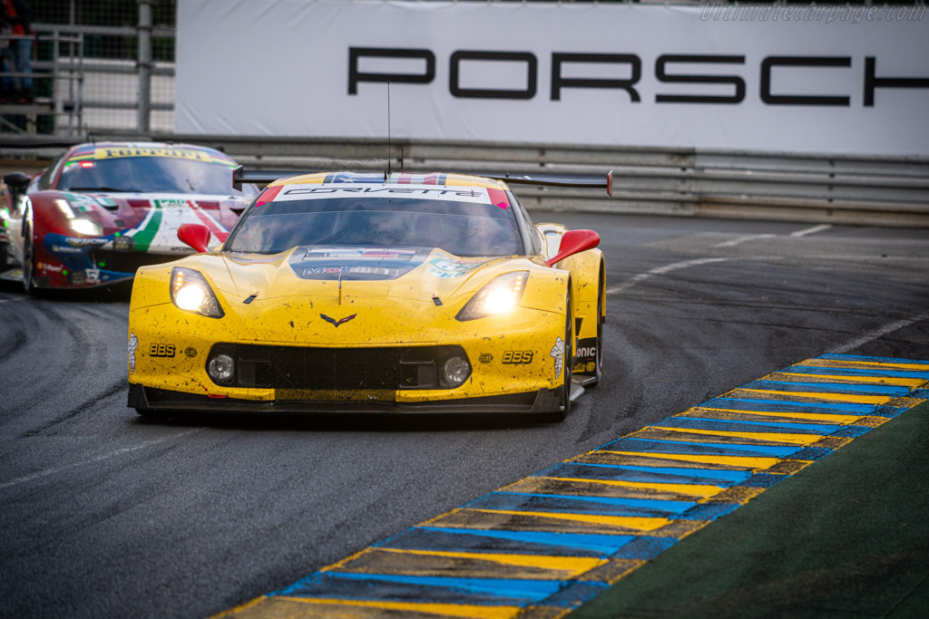 Chevrolet Corvette C7.R - Chassis: C7RGT-007 - Entrant: Corvette Racing - Driver: Jan Magnussen / Antonio Garcia / Mike Rockenfeller - 2019 24 Hours of Le Mans