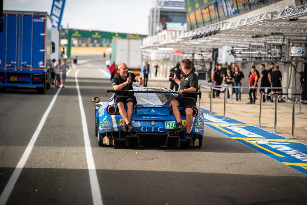 Ferrari 488 GTE - Chassis: 3840 - Entrant: Risi Competizione - Driver: Pipo Derani / Oliver Jarvis / Jules Gounon - 2019 24 Hours of Le Mans