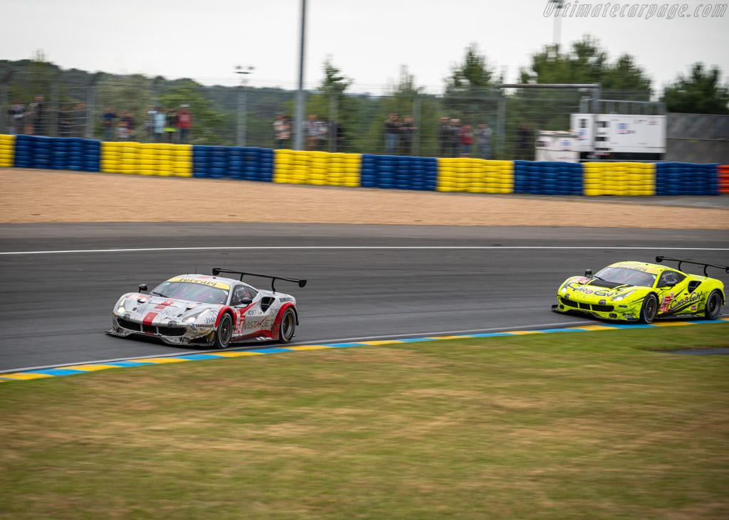 Ferrari 488 GTE - Chassis: 3814 - Entrant: Spirit of Race - Driver: Thomas Flohr / Francesco Castellacci / Giancarlo Fisichella - 2019 24 Hours of Le Mans
