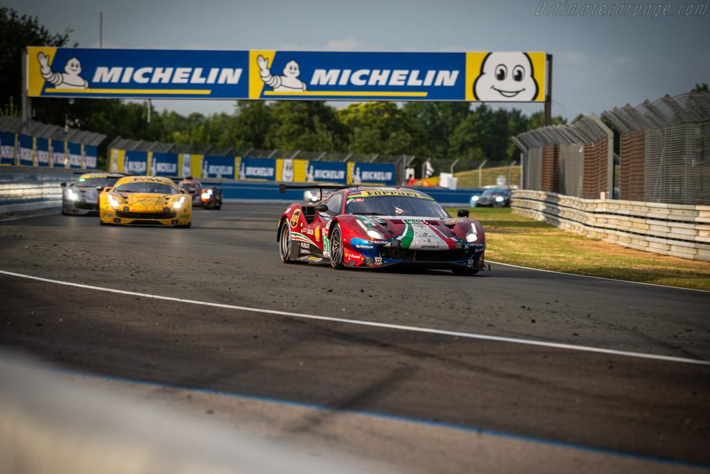Ferrari 488 GTE - Chassis: 3826 - Entrant: AF Corse - Driver: Alessandro Pier Guidi / James Calado / Daniel Serra - 2019 24 Hours of Le Mans