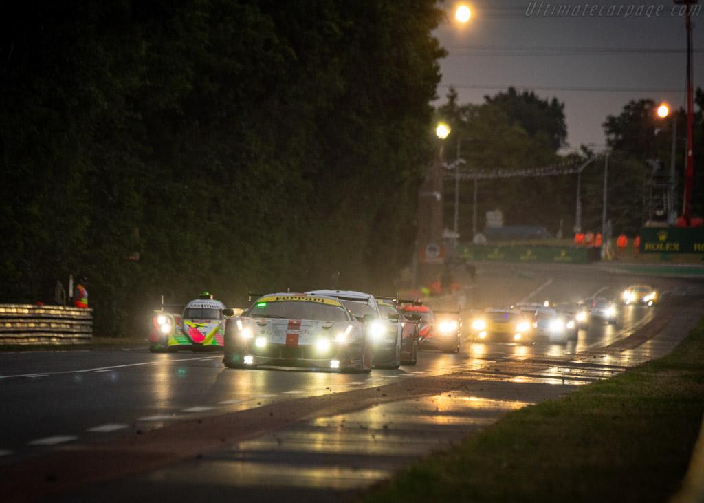Ferrari 488 GTE  - Entrant: Spirit of Race - Driver: Thomas Flohr / Francesco Castellacci / Giancarlo Fisichella  - 2019 24 Hours of Le Mans