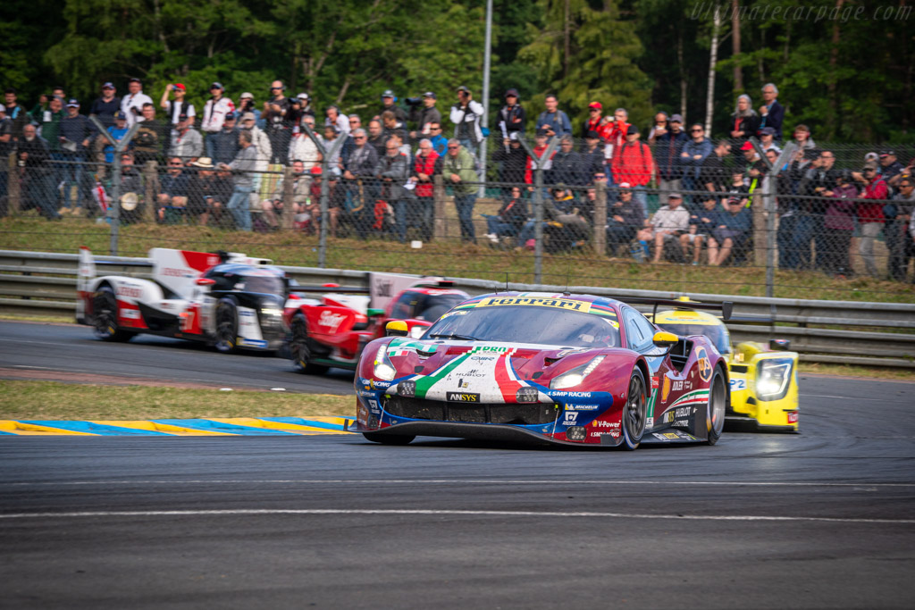 Ferrari 488 GTE - Chassis: 3824 - Entrant: AF Corse - Driver: Davide Rigon / Sam Bird / Miguel Molina - 2019 24 Hours of Le Mans