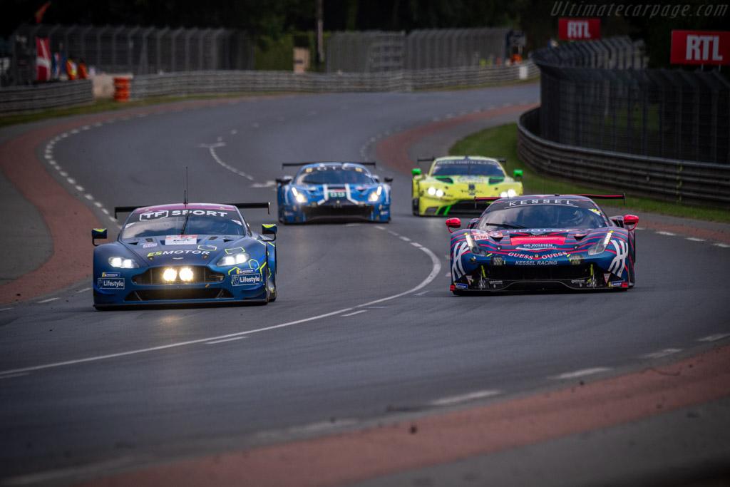 Ferrari 488 GTE - Chassis: 3832 - Entrant: Kessel Racing - Driver: Manuela Gostner / Rahel Frey / Michelle Gatting - 2019 24 Hours of Le Mans