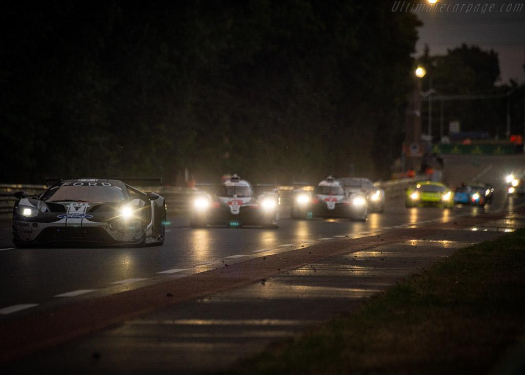 Ford GT  - Entrant: Ford Chip Ganassi Team UK - Driver: Stefan Mücke / Olivier Pla / Billy Johnson  - 2019 24 Hours of Le Mans