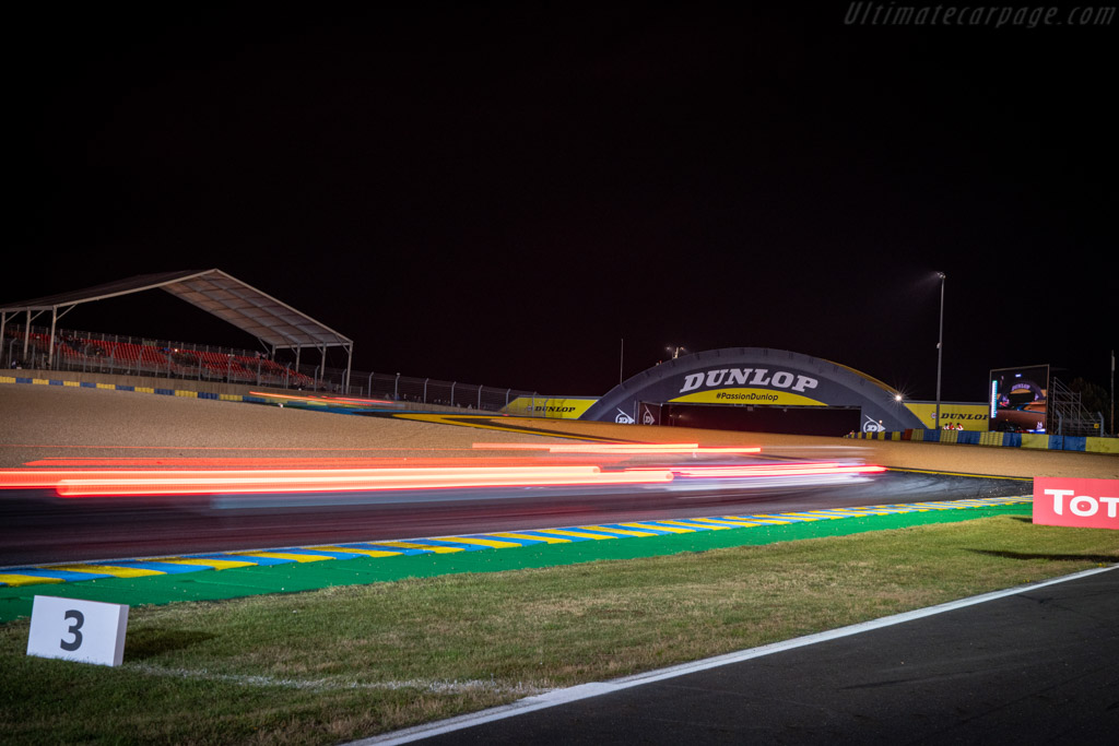 Le Mans at night   - 2019 24 Hours of Le Mans
