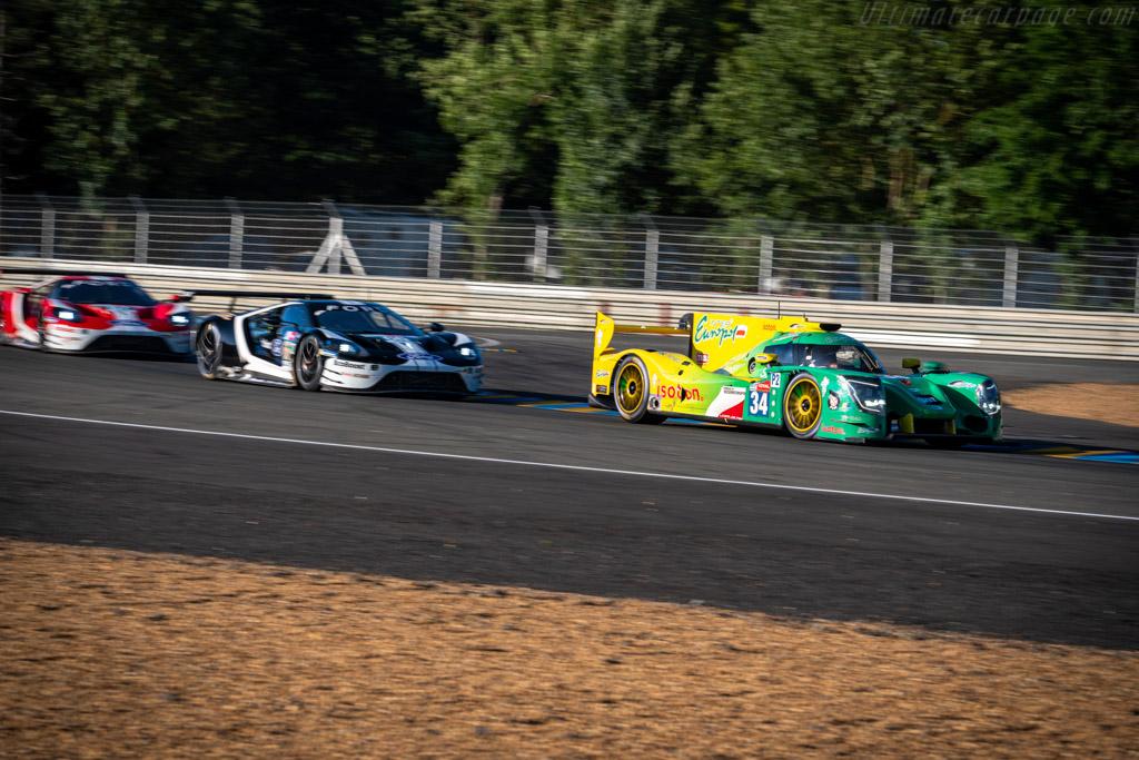 Ligier JSP217 Gibson - Chassis: OR05-16 - Entrant: Inter Europol Competition - Driver: Jakub Smiechowski / James Winslow / Nigel Moore - 2019 24 Hours of Le Mans