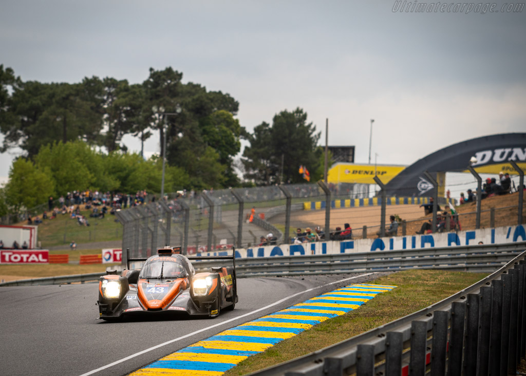 Oreca 07 Gibson - Chassis: 07-LMP2-20 - Entrant: RLR M Sport / Tower Events - Driver: John Farano / Arjun Maini / Norman Nato - 2019 24 Hours of Le Mans