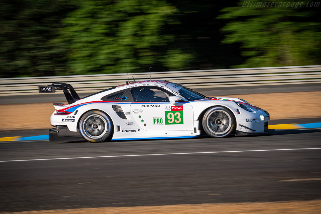 Porsche 911 RSR - Chassis: WP0ZZZ99ZHS199901 - Entrant: Porsche GT Team - Driver: Patrick Pilet / Earl Bamber / Nick Tandy - 2019 24 Hours of Le Mans