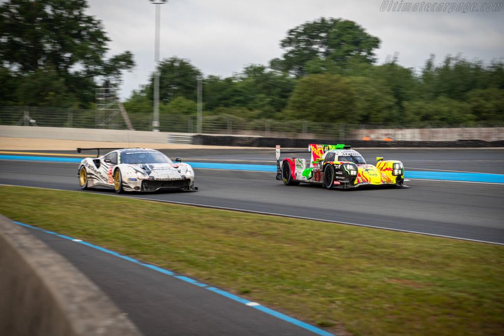 Rebellion R13 Gibson - Chassis: LMP1E-01 - Entrant: Rebellion Racing - Driver: Thomas Laurent / Nathanaël Berthon / Gustavo Menezes - 2019 24 Hours of Le Mans