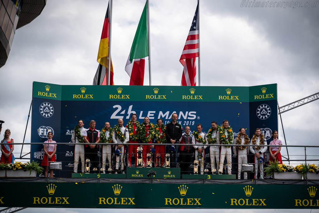 The Podium   - 2019 24 Hours of Le Mans