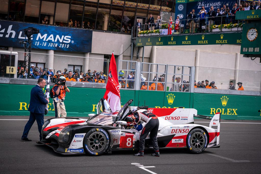 Toyota TS050 - Chassis: 19-11 - Entrant: Toyota Gazoo Racing - Driver: Sébastien Buemi / Kazuki Nakajima / Fernando Alonso - 2019 24 Hours of Le Mans