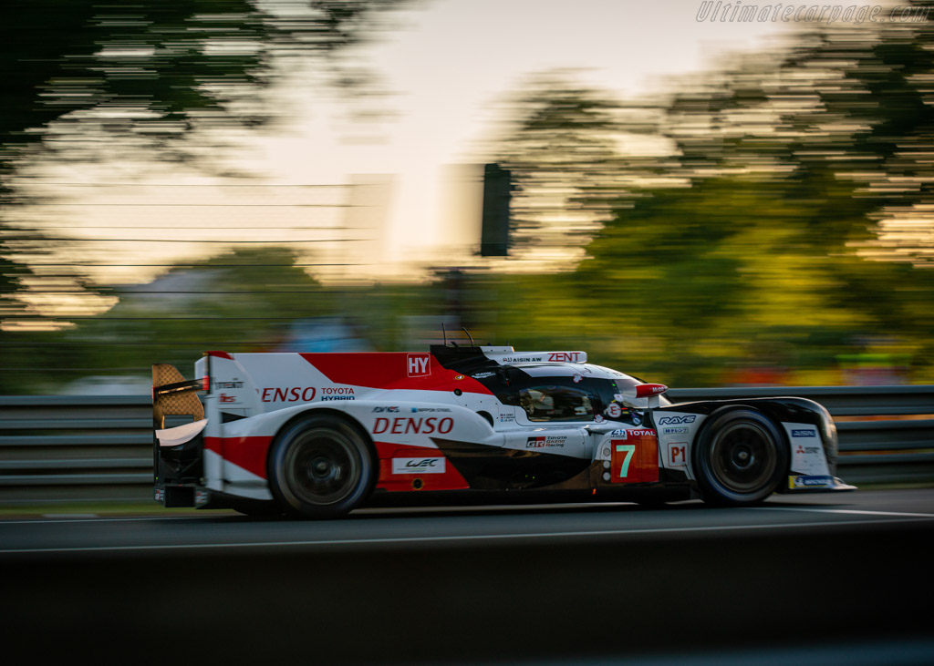 Toyota TS050 - Chassis: 17-06 - Entrant: Toyota Gazoo Racing - Driver: Mike Conway / Kamui Kobayashi / Jose Maria Lopez - 2019 24 Hours of Le Mans