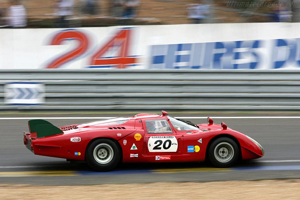 Alfa Romeo Tipo 33/2 Daytona Coupe - Chassis: 75033.019   - 2006 Le Mans Classic