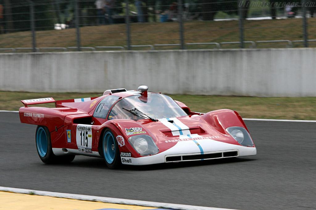 Ferrari 512 M - Chassis: 1022   - 2006 Le Mans Classic