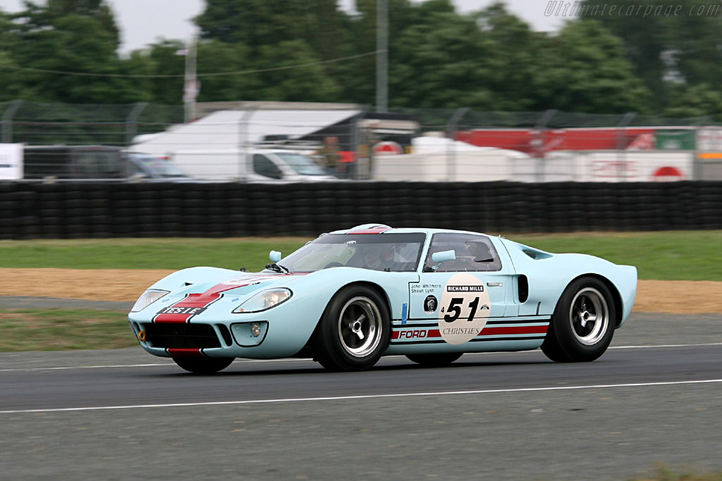 Ford GT40 - Chassis: GT40P/1025   - 2006 Le Mans Classic