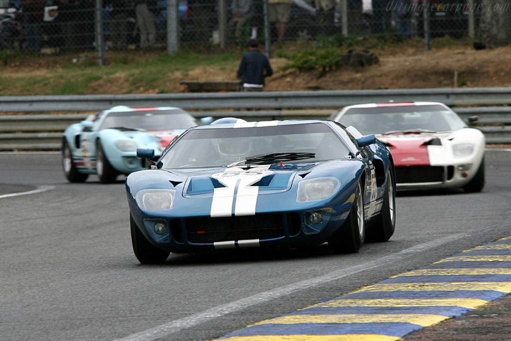 Ford GT40 - Chassis: GT40P/1062 - Driver: Hans Hugenholtz  - 2006 Le Mans Classic