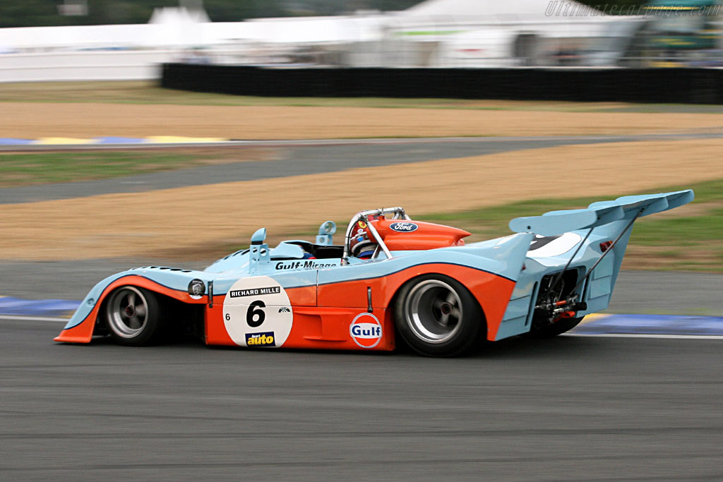 Gulf Mirage GR7 - Chassis: GR7/701 - Driver: Marc Devis  - 2006 Le Mans Classic