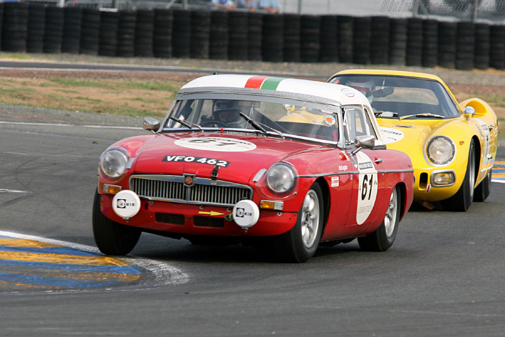 MG B    - 2006 Le Mans Classic