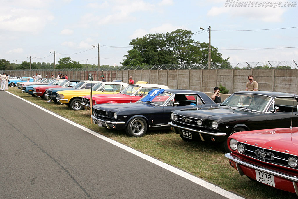 Mustangs as far as the eye can see    - 2006 Le Mans Classic