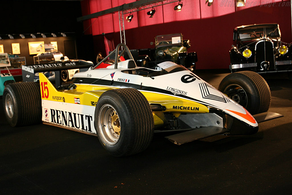 Renault RE30B - Chassis: RE30B-7   - 2006 Le Mans Classic
