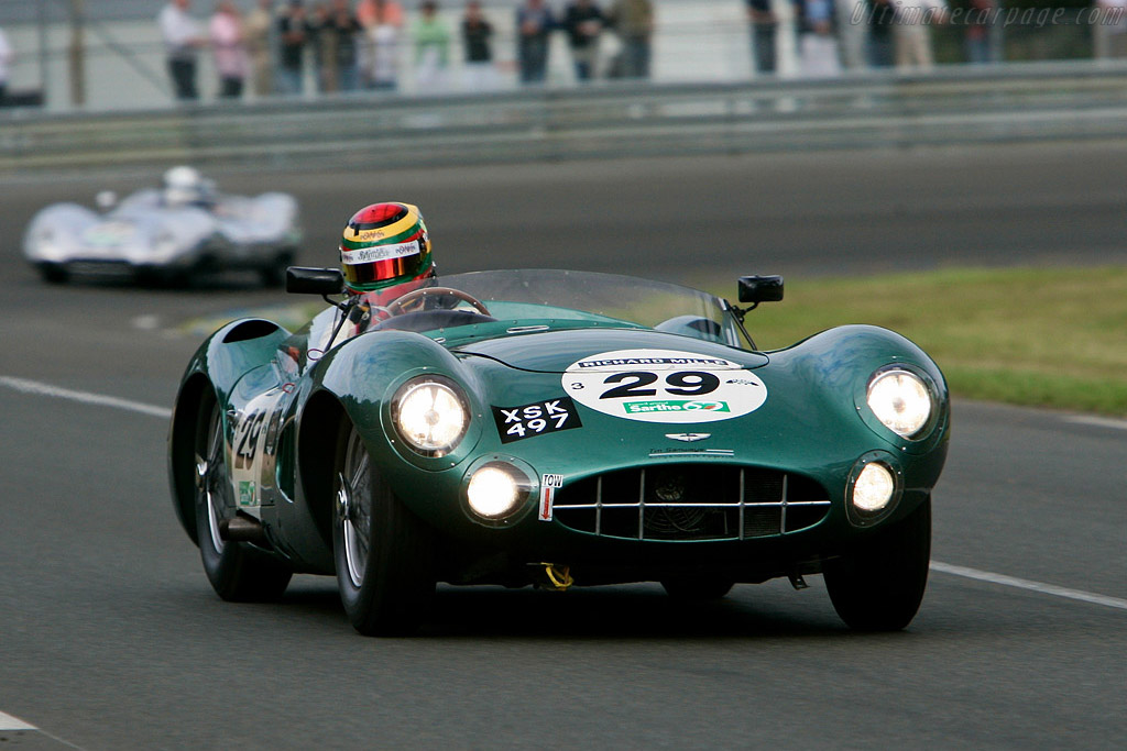 Aston Martin DBR1 - Chassis: DBR1/2 - Driver: Nic Leventis  - 2008 Le Mans Classic