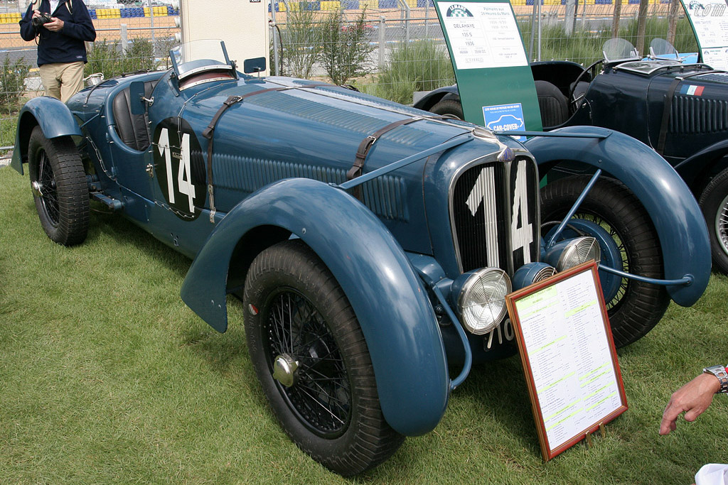 Delahaye 135 S - Chassis: 46084   - 2008 Le Mans Classic